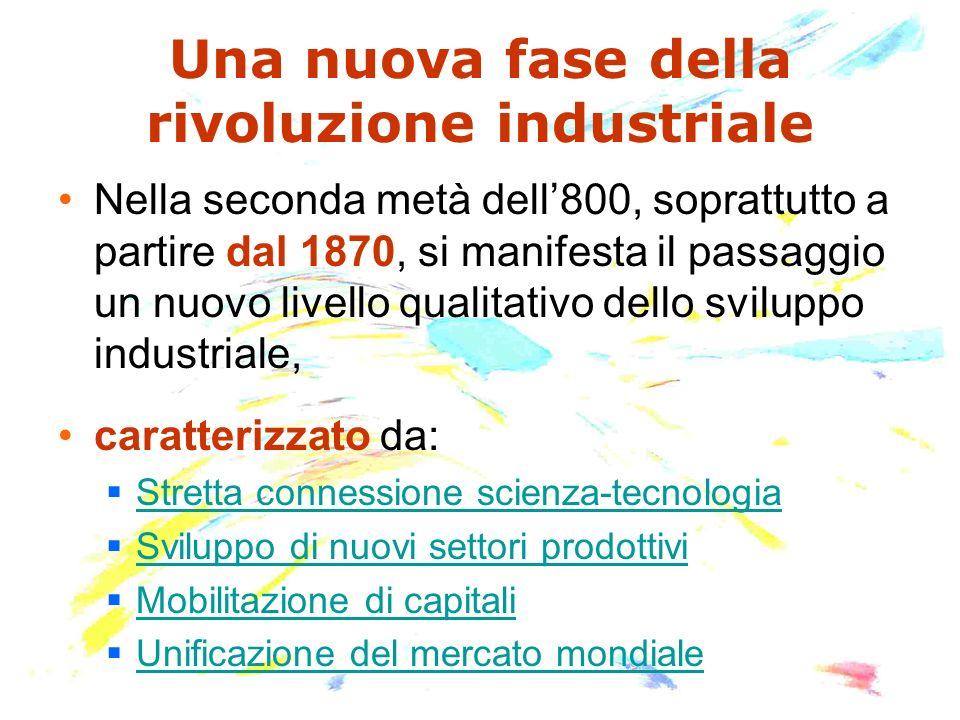 Una nuova fase della rivoluzione industriale