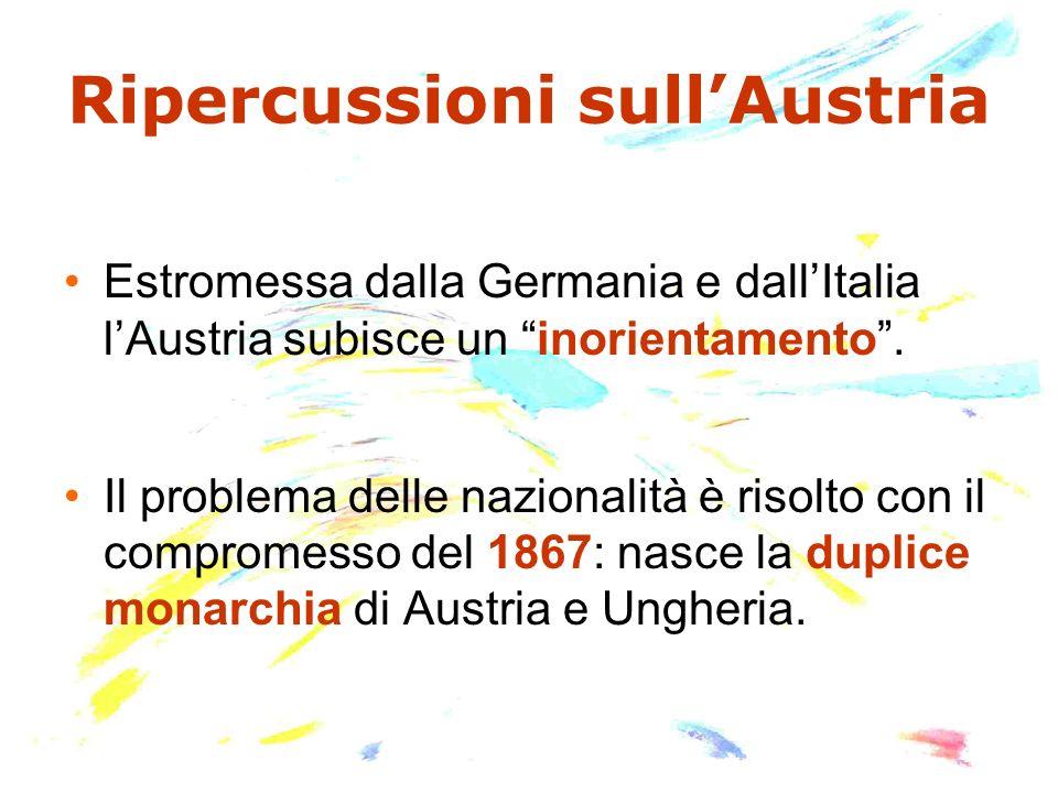 Ripercussioni sull'Austria