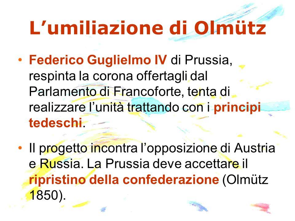 L'umiliazione di Olmütz