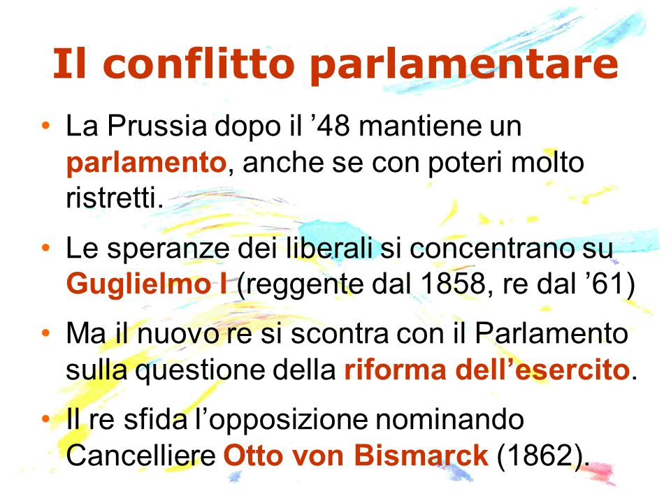 Il conflitto parlamentare