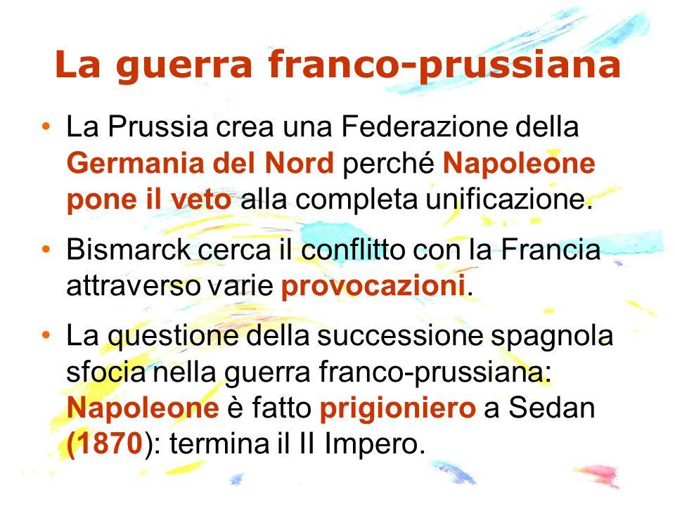 La guerra franco-prussiana