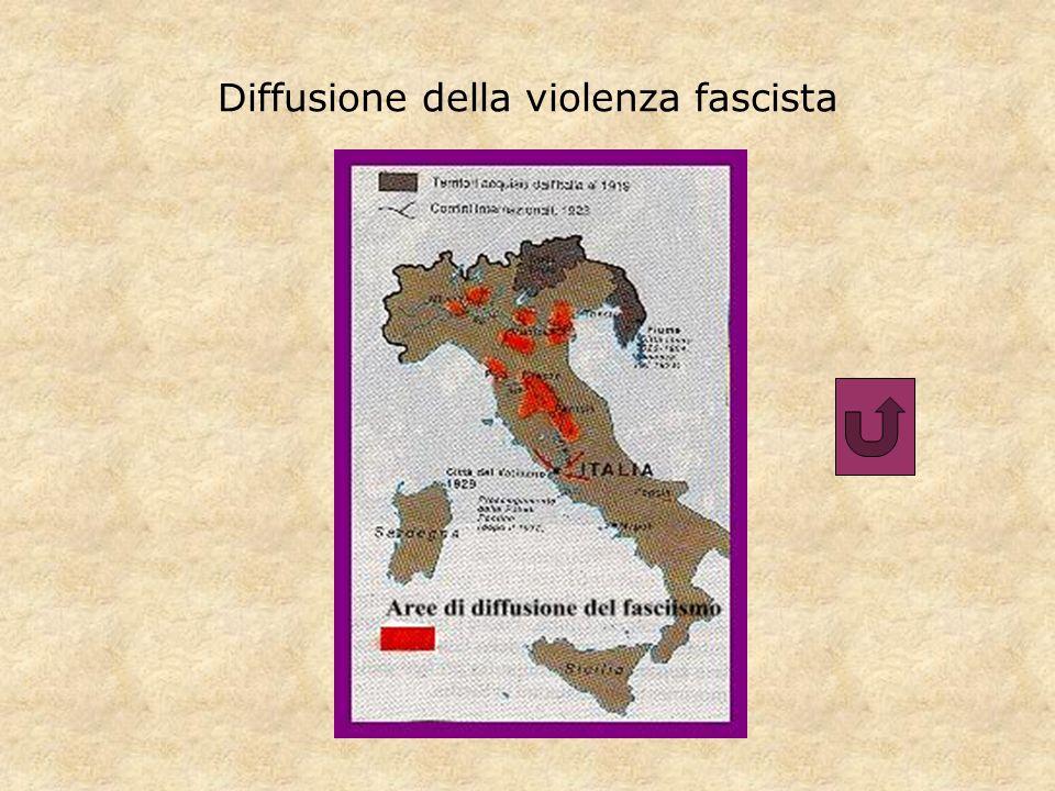 Diffusione della violenza fascista