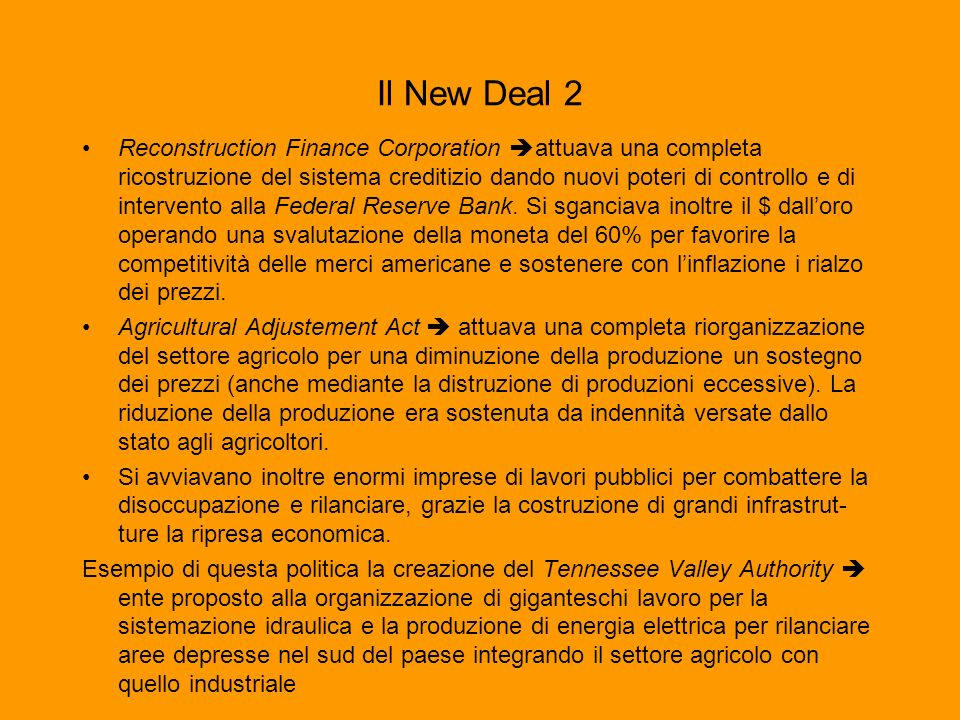 Il New Deal 2