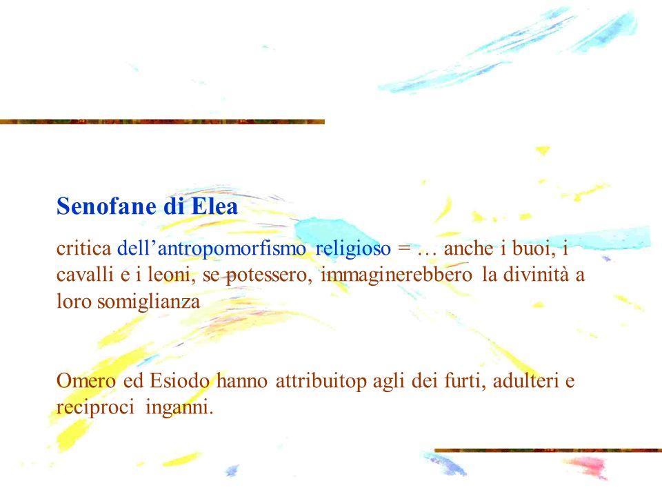 Senofane di Elea