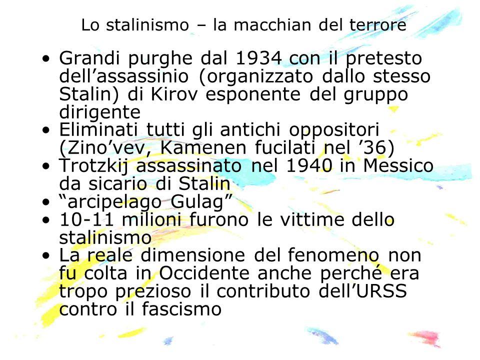 Lo stalinismo – la macchian del terrore