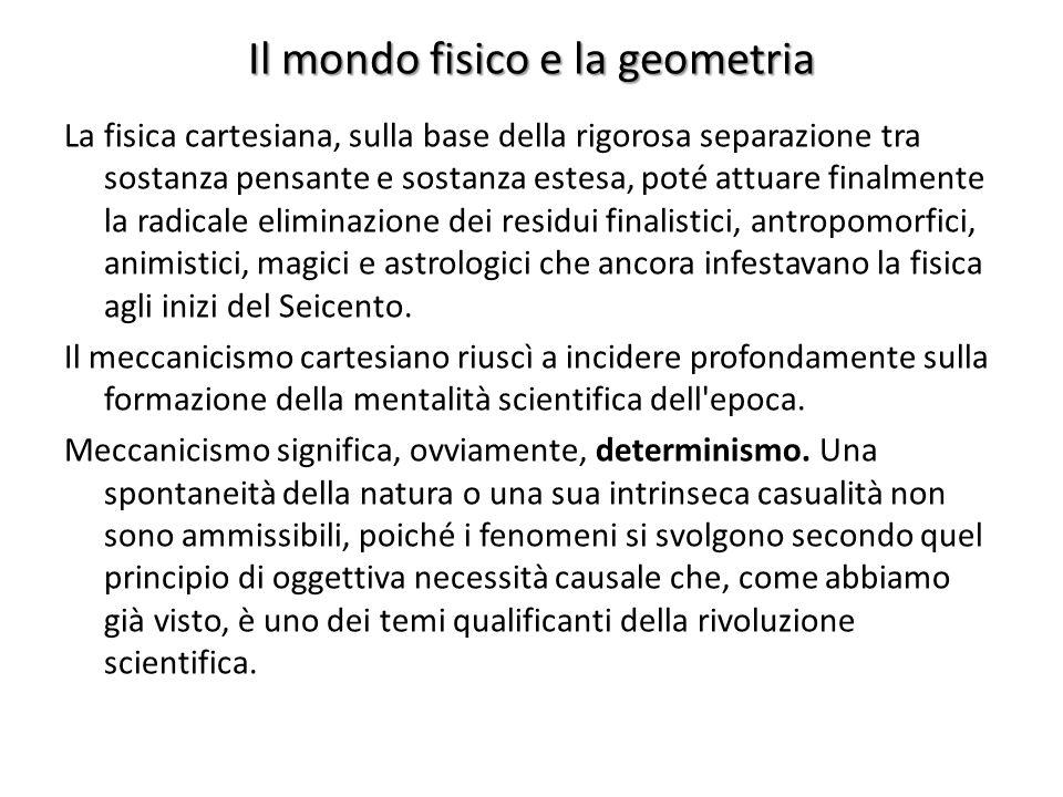 Il mondo fisico e la geometria