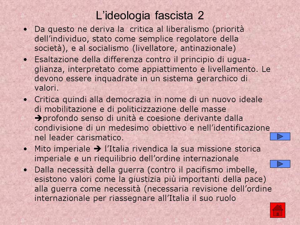 L'ideologia fascista 2
