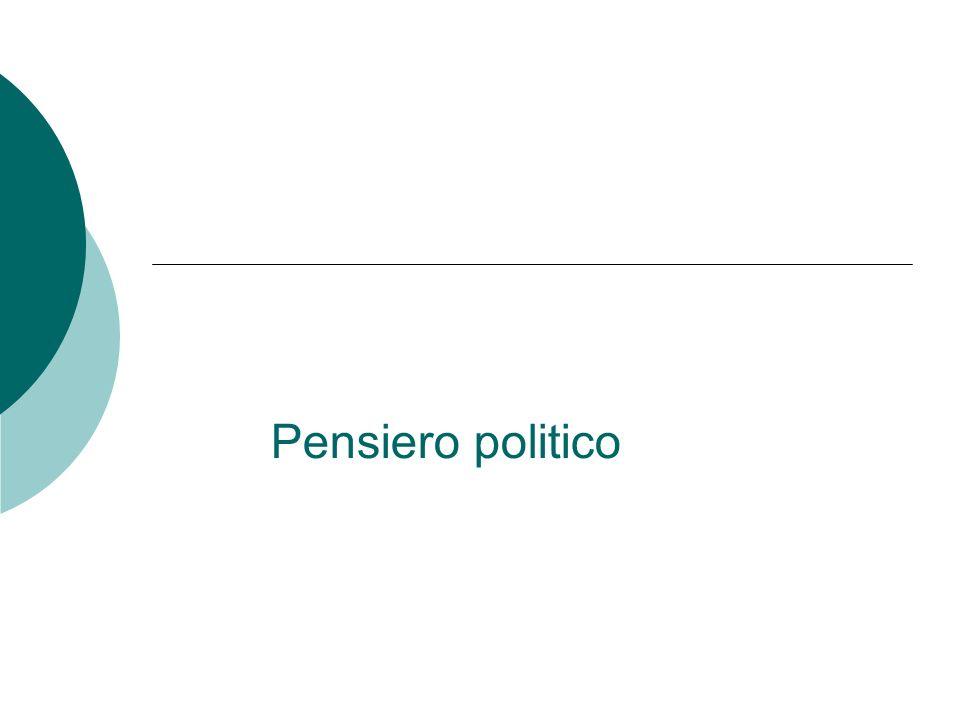 Pensiero politico