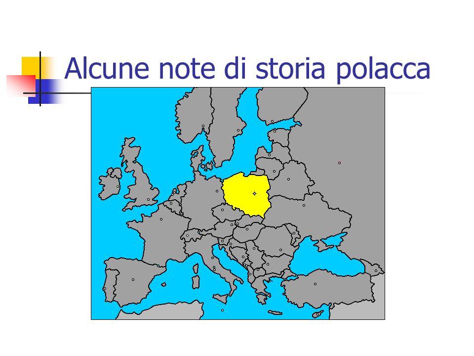 Alcune note di storia polacca