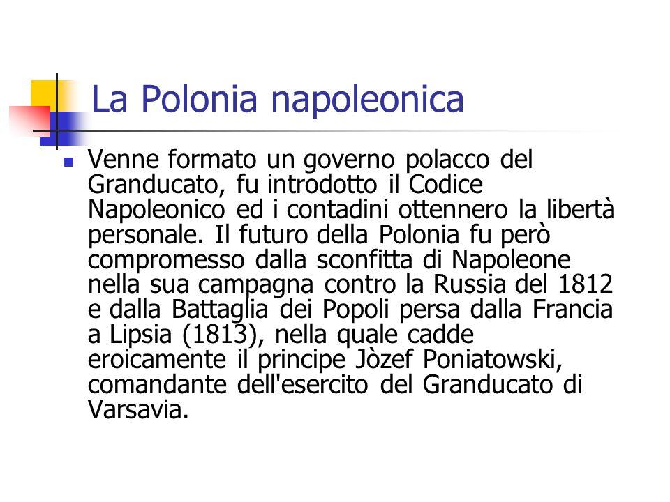 La Polonia napoleonica