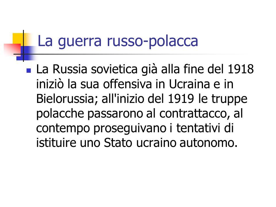 La guerra russo-polacca