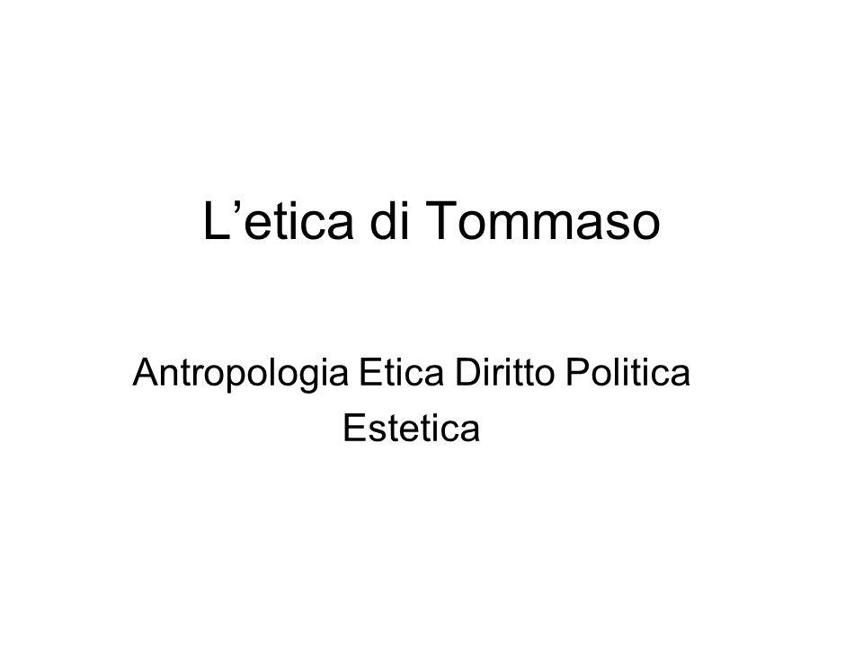 Antropologia Etica Diritto Politica Estetica