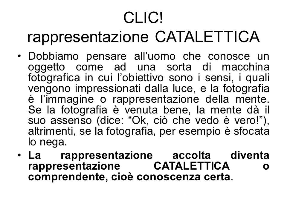 CLIC! rappresentazione CATALETTICA