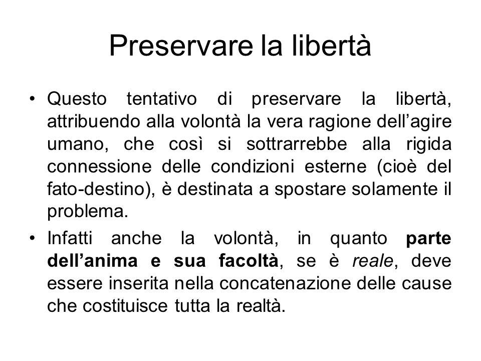 Preservare la libertà