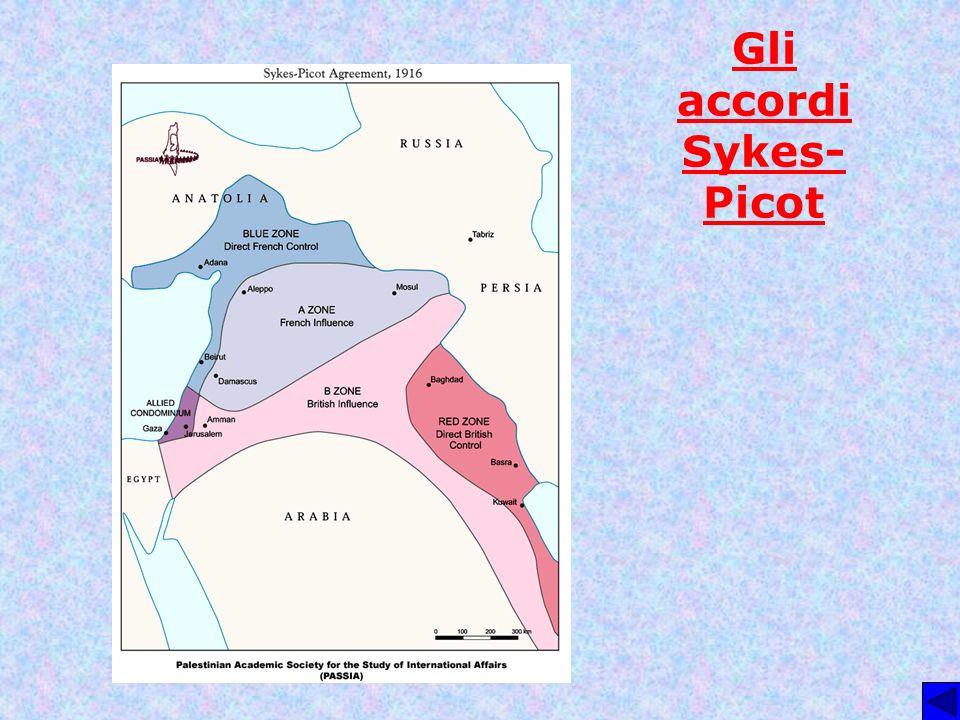 Gli accordi Sykes-Picot