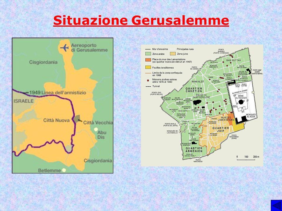 Situazione Gerusalemme
