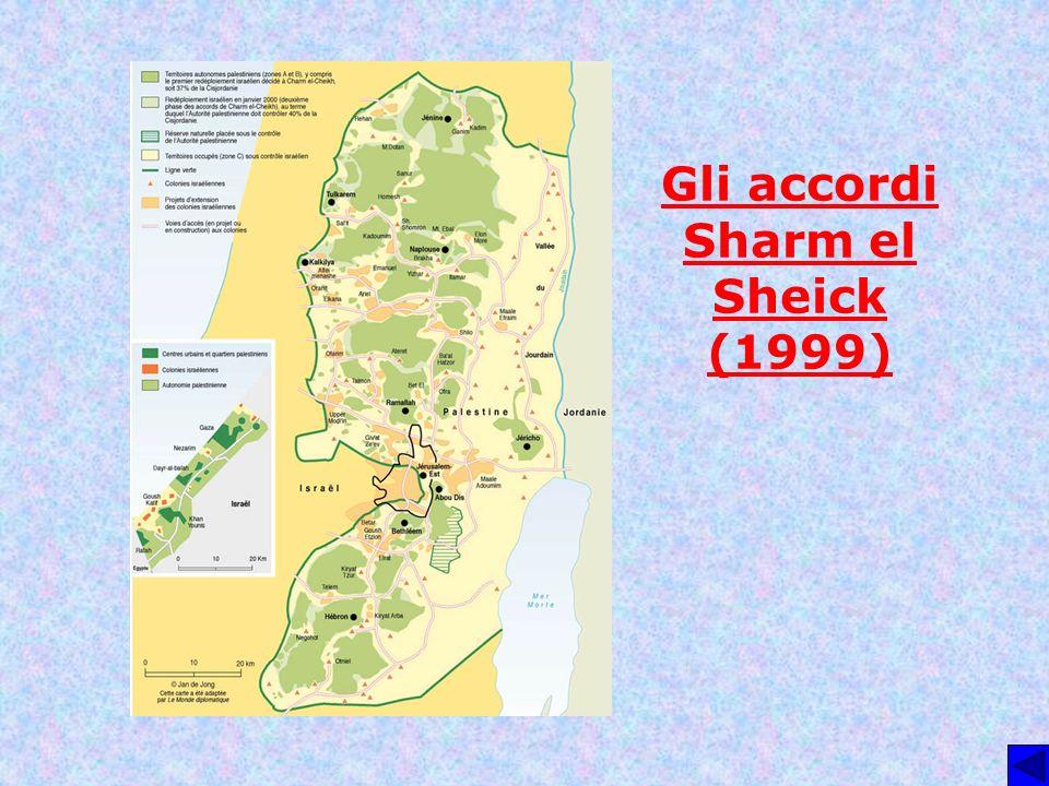 Gli accordi Sharm el Sheick (1999)