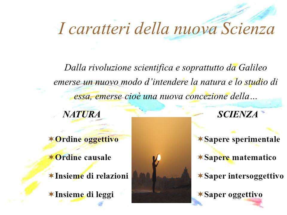I caratteri della nuova Scienza