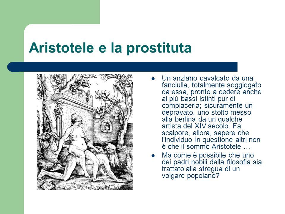 Aristotele e la prostituta