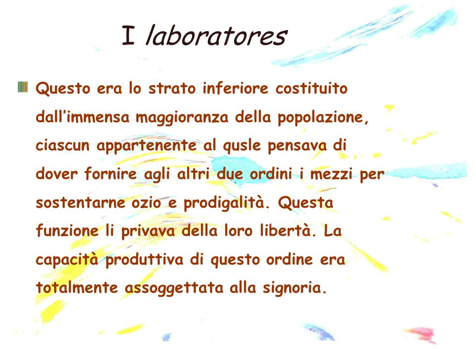 I laboratores