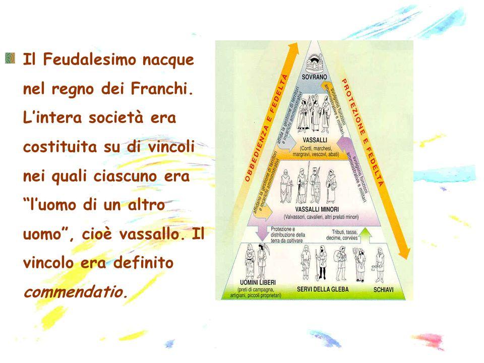 Il Feudalesimo nacque nel regno dei Franchi