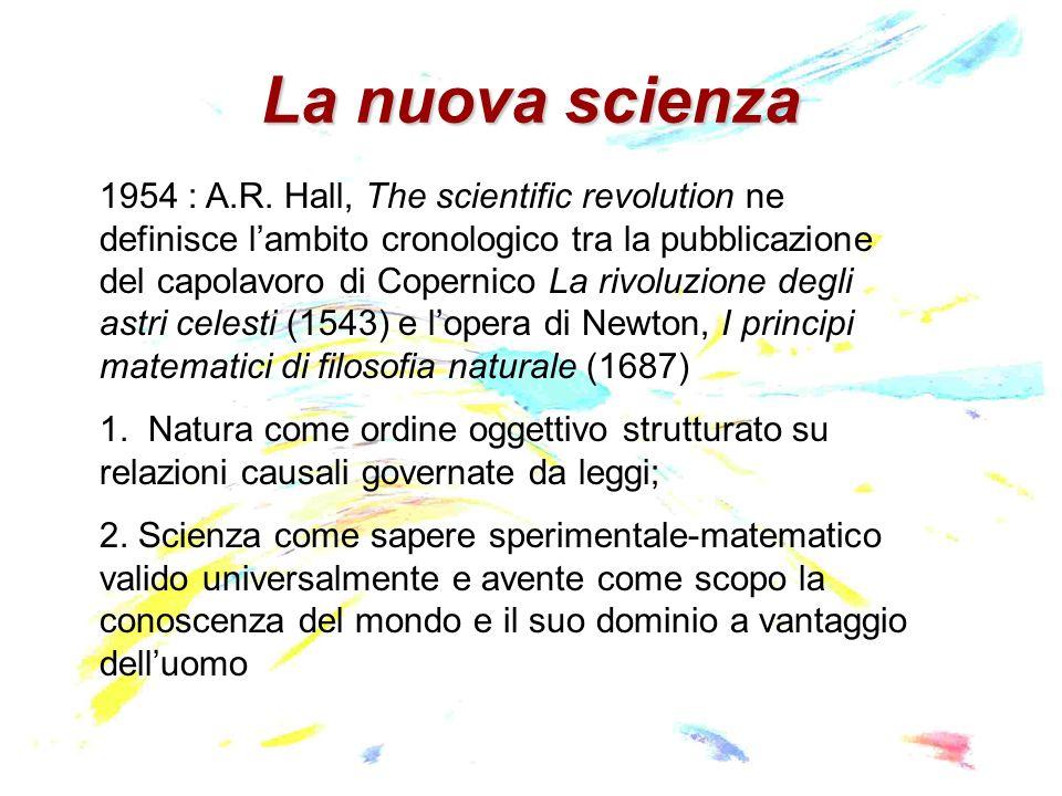 La nuova scienza