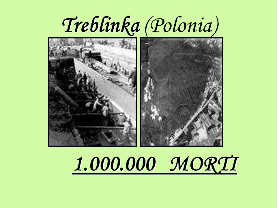 Treblinka (Polonia) 1.000.000 MORTI