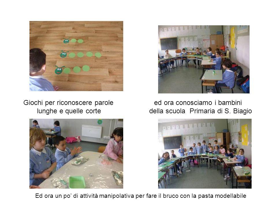 Giochi per riconoscere parole ed ora conosciamo i bambini