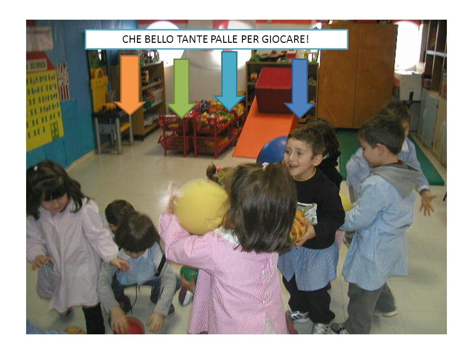 CHE BELLO TANTE PALLE PER GIOCARE!