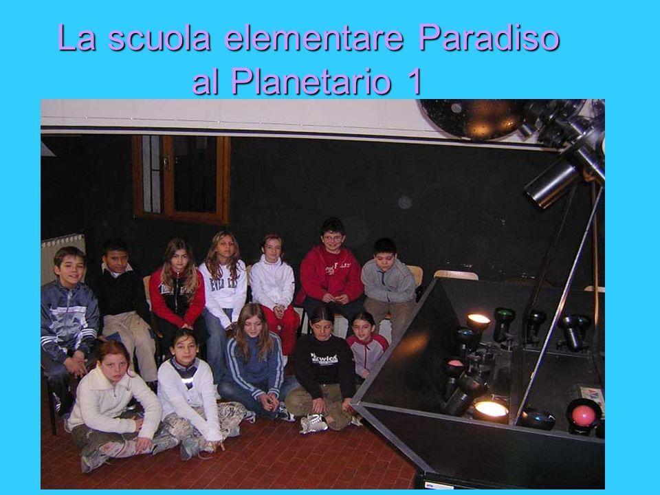 La scuola elementare Paradiso al Planetario 1