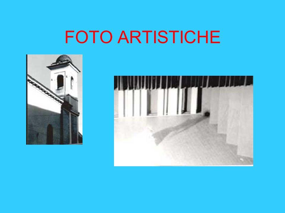 FOTO ARTISTICHE