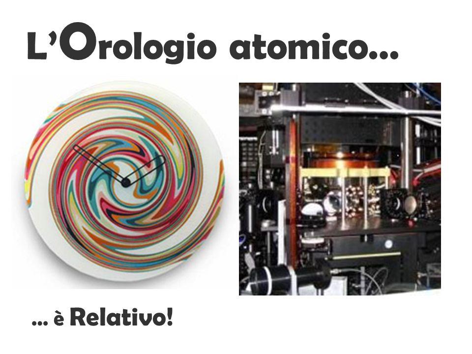 L'Orologio atomico… … è Relativo!