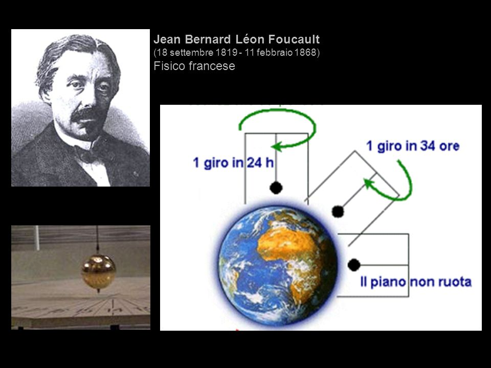Jean Bernard Léon Foucault Fisico francese