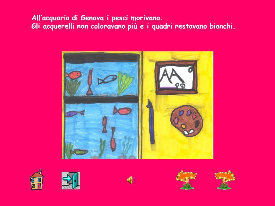 All'acquario di Genova i pesci morivano.