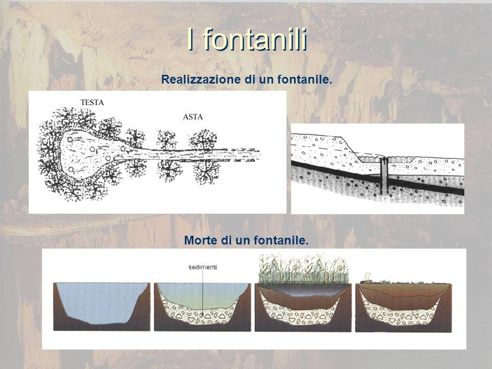 I fontanili Realizzazione di un fontanile. Morte di un fontanile.