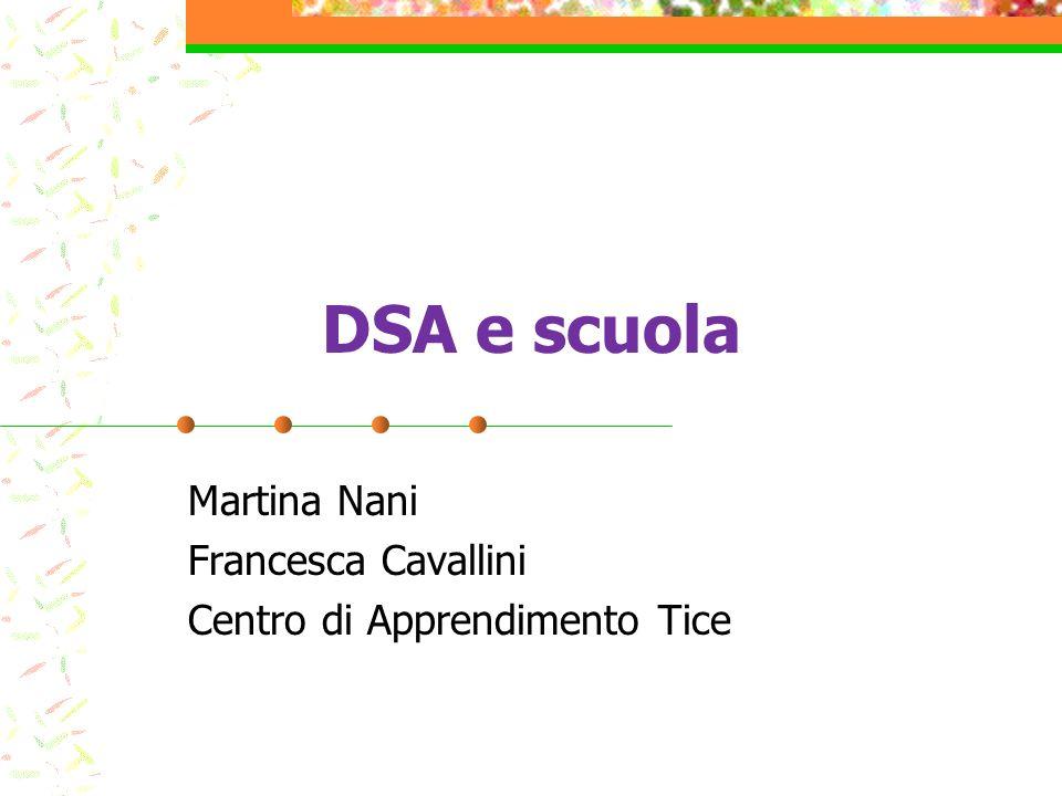 Martina Nani Francesca Cavallini Centro di Apprendimento Tice