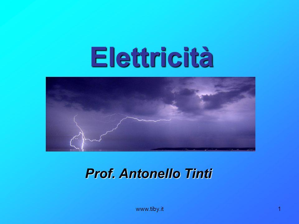Elettricità Prof. Antonello Tinti www.tiby.it