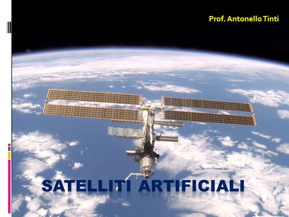 Satelliti artificiali