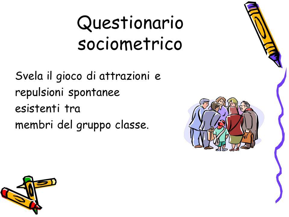 Questionario sociometrico