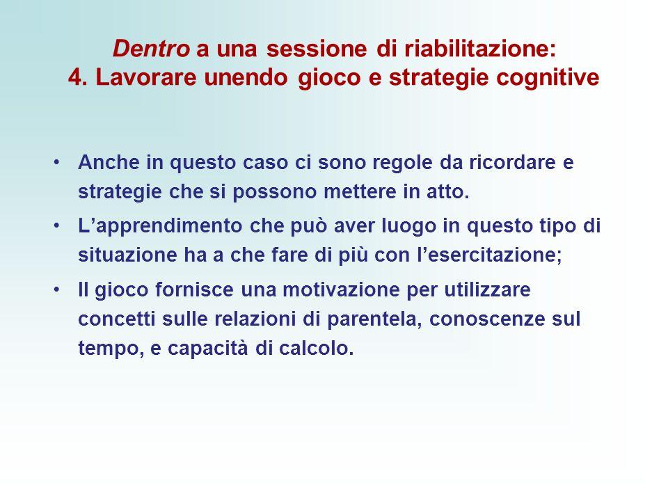 Dentro a una sessione di riabilitazione: 4