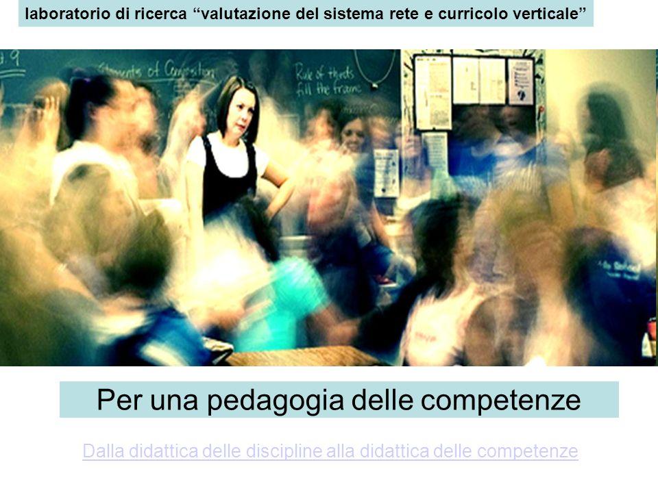Per una pedagogia delle competenze