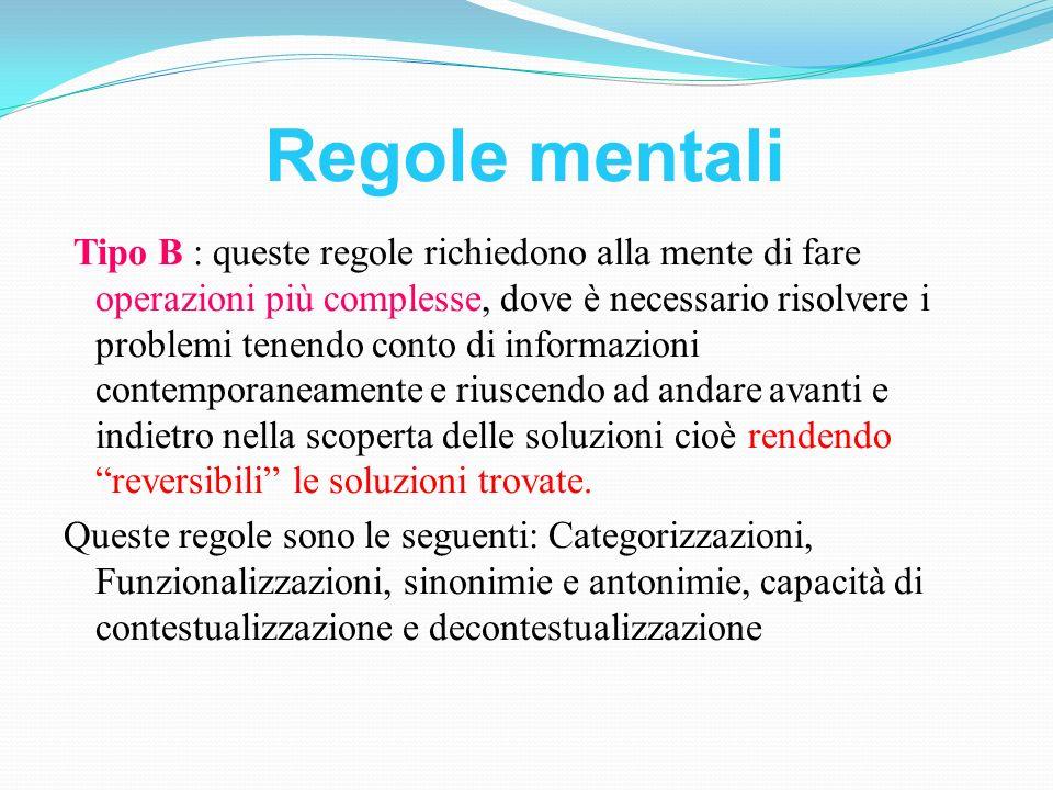 Regole mentali
