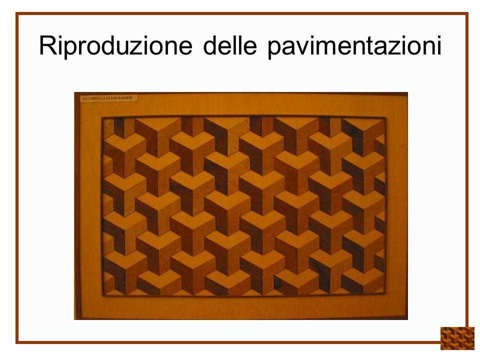 Riproduzione delle pavimentazioni