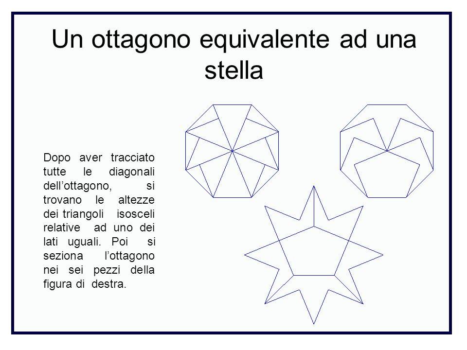 Un ottagono equivalente ad una stella