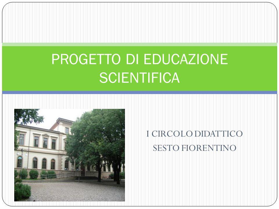 PROGETTO DI EDUCAZIONE SCIENTIFICA