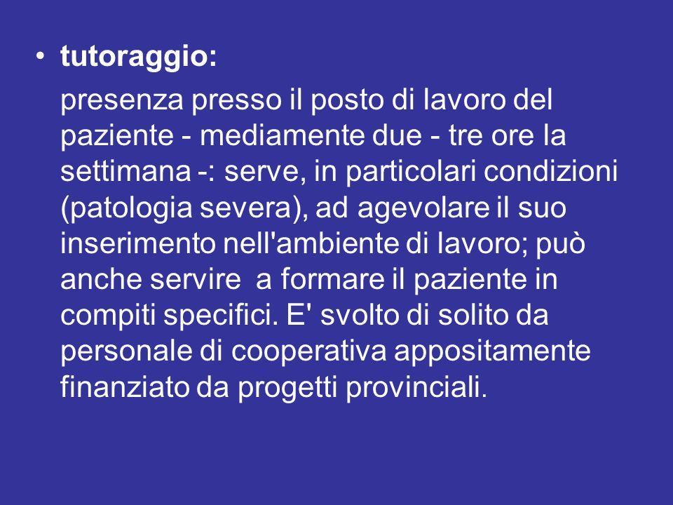 tutoraggio: