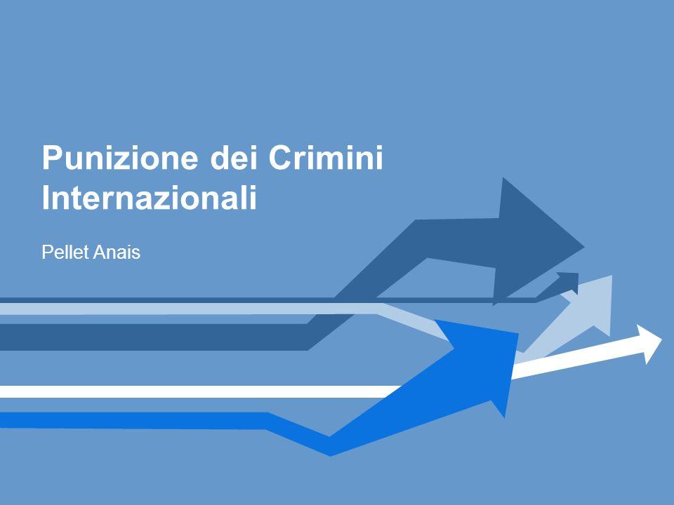 Punizione dei Crimini Internazionali
