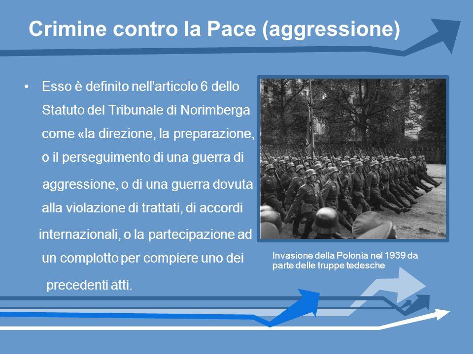 Crimine contro la Pace (aggressione)