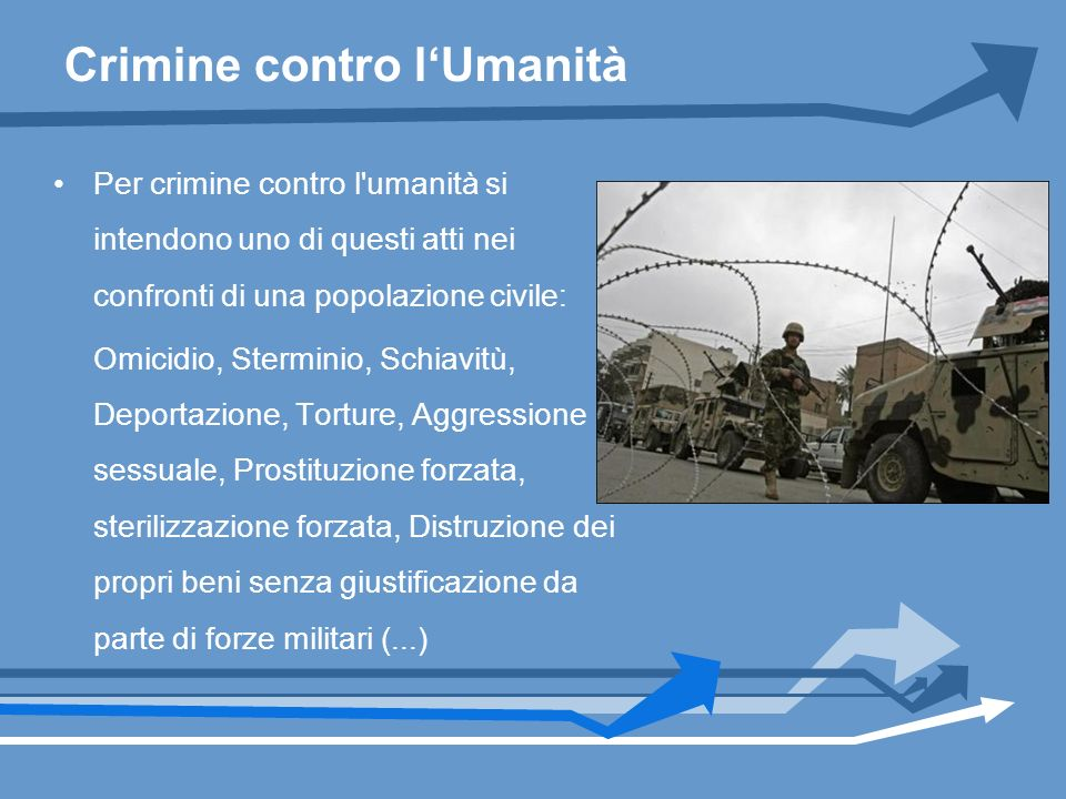 Crimine contro l'Umanità