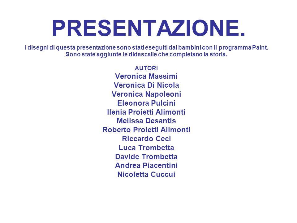 PRESENTAZIONE. Veronica Massimi Veronica Di Nicola Veronica Napoleoni